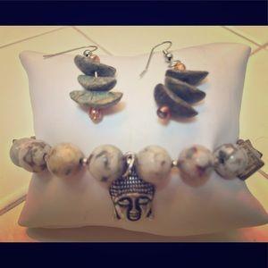 Accessories - ZEN stretch bracelet & earrings 🙏🏼